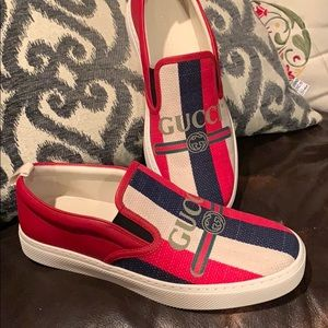 Gucci NWB slip on Sneakers